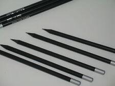 Bleistift Menge wählbar SCHWARZ DURCHGEFÄRBT ca. 170 mm