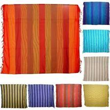 Ibena Malang Multi Rayé Doux Luxe Jacquard Throw Blanket 150 cm x 200 cm