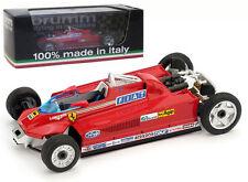 Brumm R367M FERRARI 126CK TURBO MULETTO T-CAR GP MONACO 1981-G VILLENEUVE 1 / 43