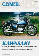 CLYMER REPAIR MANUAL Fits: Kawasaki EN500 Vulcan 500,EN450A 454 LTD,KZ440A LTD,K