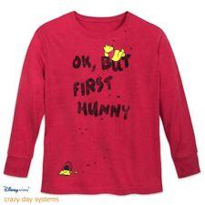 NWT Disney Store Winnie the Pooh OK, But First Hunny T-Shirt Med L XL 2XL 3XL