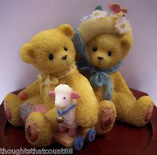 Cherished Teddies Chelsea & Daisy 597392 Nib/Coa 99 Le *Free Usa Shipping