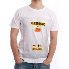 Eleven Paris Camiseta de los hombres - BOLLOCKS - Blanco