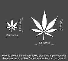 WEED Vinyl Sticker Window/Door/Laptop/Tablet Decal