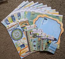 Bo Bunny 12x12 Scrapbook Paper Stickers Jewels Barefoot & Bliss Jewels Trinkets