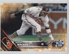 2016 Topps Update Series Online Exclusive 5 x 7 Gold #US1 Manny Machado Card