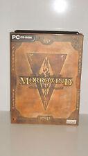 JEU PC THE ELDER SCROLLS III MORROWIND