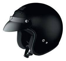 HX 104 Jethelm Motorrad Chopper Roller Quad Helm schwarz mit ECE Norm
