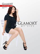 Glamory SATIN MATT 20 - Strumpfhose My Size Gr. IV - VIII schwarz, make up, tein