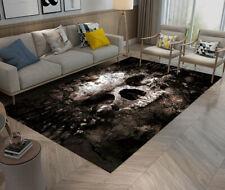 Area Rugs for Bedroom Carpet Living Room Floor Yoga Mat Halloween Decay Skull
