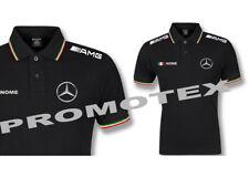 polo MERCEDES AMG cotone tricolore italia racing maglietta corse sport