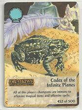 Spellfire 4th Edition Card M/NM 452/500 Codex of the Infinite Planes