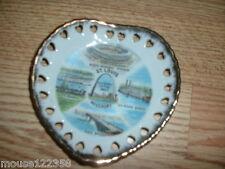 St Louis Missouri State   Plate Souvenir reticulated