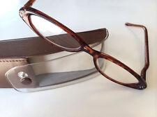 Readers Reading Glasses Plastic Tortoise Frame Mild Medium Strong Case Cloth