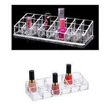 Acrílico 12 24 y 36 De Bolsillo Lápiz Labial Maquillaje Estuche Caja Organizador De Pantalla