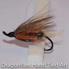 Thunder & Lightning Salmon Fly Fishing  Flies single hook by Dragonflies