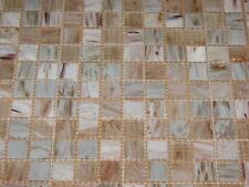 1 qm Mosaik 2x2 GOLDENSILK hellbeige GSL510qm