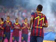 Neymar da Silva Santos Jr Brazil FC Barcelona Huge Giant Wall Print POSTER