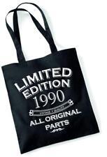 27th regalo di compleanno Tote Bag Mam shopping Limited Edition 1990 tutte le parti originali