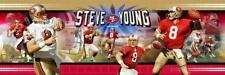 Steve Young Quarterback San Francisco 49ers Photoramic #1030