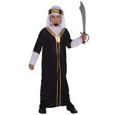 BOYS SULTAN WISE MAN KING ARAB ARABIAN SHEIK FANCY DRESS COSTUME