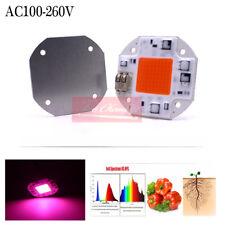 20W/30W50W COB led Bulb Smart IC AC 110V-220V Driver Full Spectrum Spotlight