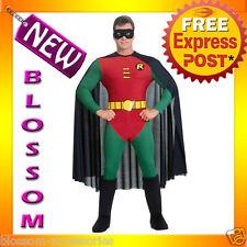C47 Mens DC Comics Robin Super Hero Fancy Halloween Adult Costume