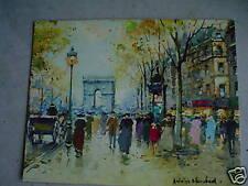 Vintage Antoine Print Champs Elysees LOOK