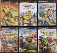 Shrek games (Playstation 2) Ps2 Tested
