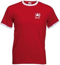 LEYTON ORIENT FC Stile Retrò adulto Squadra di Calcio T-Shirt - tutte le taglie disponibili