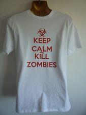 Keep Calm and Kill Zombie T-Shirt da Uomo' WALKING DEAD COD BLACK OPS divertente