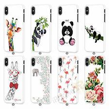 Giraffe Flamingo Panda Phone Case Cover for Apple iPhone Models 091