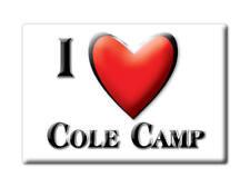 SOUVENIR USA - MISSOURI FRIDGE MAGNET AMERICA I LOVE COLE CAMP (BENTON COUNTY)