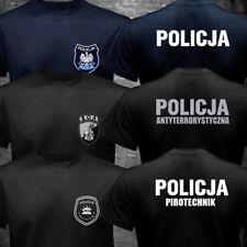 New Poland Polish Police Policja BOA Anti Terrorist Pirotechnik T-shirt