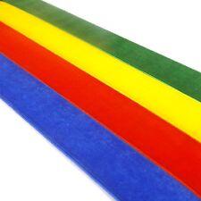 Quality Velvet Ribbon Rolls, 20 Great Colours Polyester - 3mm, 10mm, 15mm, 25mm