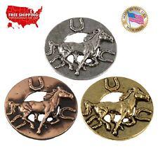 Lapel Pin or Magnet, M135 Creative Pewter Designs Horse Badge