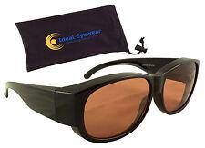 Blue Blocker Blocking Fit Over Sunglasses Wear Cover Driving Glasses Mens Womens