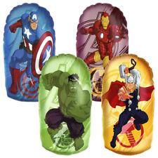 Marvel Avengers Mini Inflatable Boxing Bop Punch Bag Hulk Thor Iron Man Capt Am.