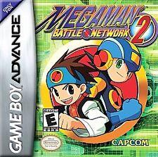 ***MEGA MAN BATTLE NETWORK 2 GAME BOY ADVANCE GBA COSMETIC WEAR~~~