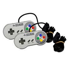 2 Original Snes - Super Nintendo Controller in Grau