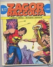 ZAGOR RACCOLTA N. 17 - SERGIO BONELLI EDITORE