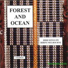 Hirini Melbourne Forest & Ocean New Zealand Maori & Nature - Birdsong cd ,new