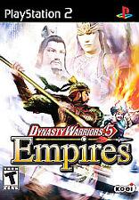 Dynasty Warriors 5 Empires - PlayStation 2 Free Shipping