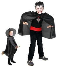 Dracula Kinderkostüm Vampir-Umhang Cape Graf Drakula Hexer Magier 12190713F