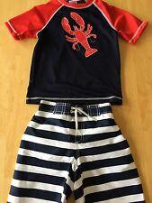 NWT Gymboree Boys Rash Guard trunk Set Swimsuit 18 24mo 2T 3T Swim Shop