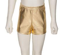 pour filles et femmes métallique danse sport gymnastique short court khpm-5 par