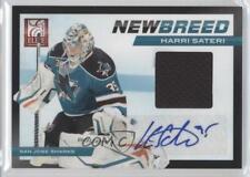 2011 Panini Elite #35 Harri Sateri San Jose Sharks Auto Autographed Hockey Card