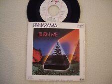"PANARAMA - Burn me / Protection - 7"""