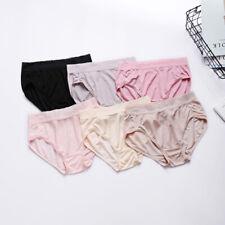 Women Ladies Knitted Silk Briefs Knickers Panties Underdress Underpants Lingerie