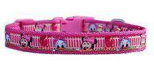 """ROSA """" Minnie & Daisy """" taglia media Collare per cane cucciolo o & SET"""